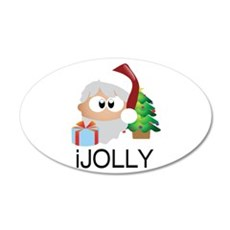 iJOLLY Santa Claus Spreads Happiness Wall Decal