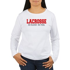Women's Long Sleeve White T-Shirt