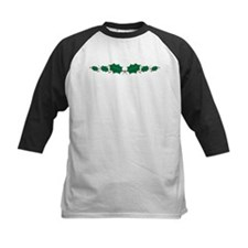 Christmas Holly Baseball Jersey