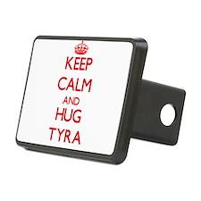 Keep Calm and Hug Tyra Hitch Cover
