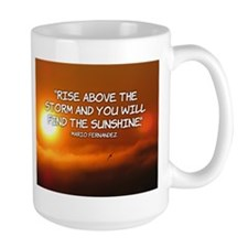 Rise Above the Storm Mugs