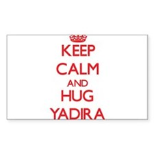 Keep Calm and Hug Yadira Decal