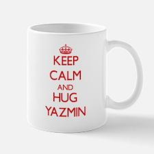 Keep Calm and Hug Yazmin Mugs