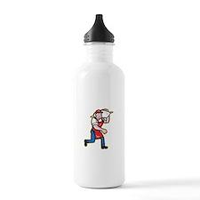 Flour Miller Carry Sack Walking Cartoon Water Bott