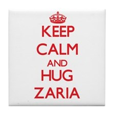 Keep Calm and Hug Zaria Tile Coaster