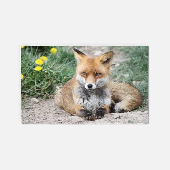 Fox002 3'x5' Area Rug