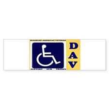 Disabled American Veteran Bumper Bumper Stickers