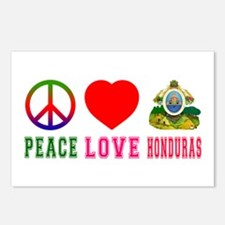 Peace Love Honduras Postcards (Package of 8)