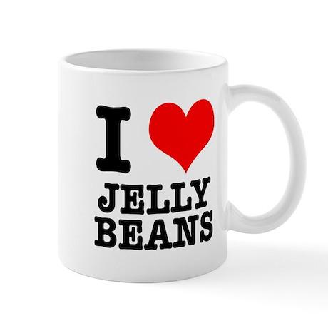 I Heart (Love) Jelly Beans Mug
