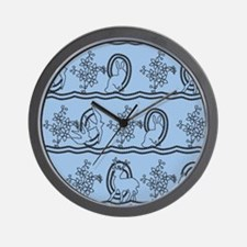 Alice in Wonderland dress Wall Clock