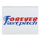 Fastpitch softball Wall Calendars