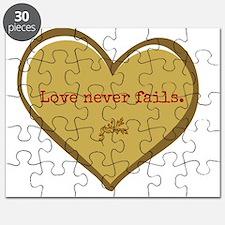 Love never fails Puzzle