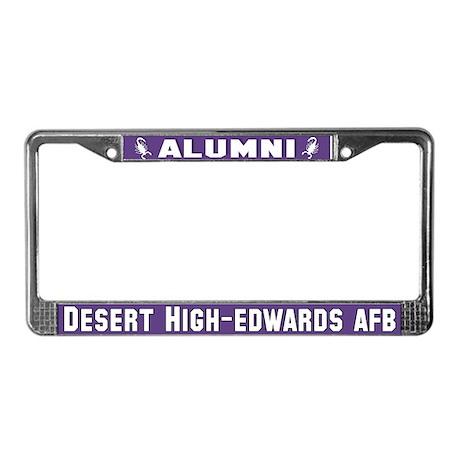 DHS Alumni Logo License Plate Frame