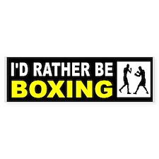 BOXING Bumper Bumper Sticker