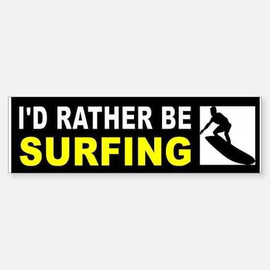 SURFING Bumper Bumper Bumper Sticker