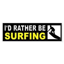 SURFING Bumper Bumper Sticker