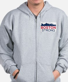Boston Strong - Skyline Zip Hoodie
