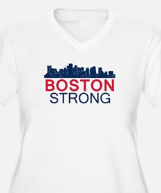 Boston Strong - Skyline Plus Size T-Shirt