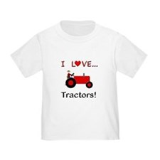 I Love Red Tractors T