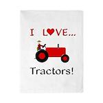 I Love Red Tractors Twin Duvet