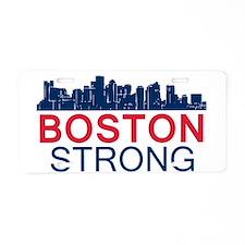 Boston Strong - Skyline Aluminum License Plate