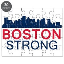 Boston Strong - Skyline Puzzle