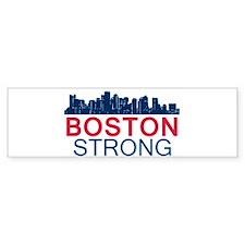 Boston Strong - Skyline Bumper Bumper Bumper Sticker