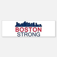 Boston Strong - Skyline Bumper Bumper Bumper Sticker