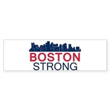 Boston Strong - Skyline Bumper Bumper Sticker