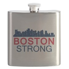 Boston Strong - Skyline Flask