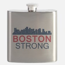 Boston Strong - Skyline Flask