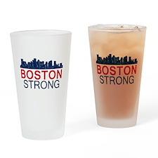 Boston Strong - Skyline Drinking Glass