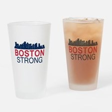 Boston Strong - Skyline Drinking Glass