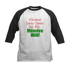 Santa Memere Will Baseball Jersey