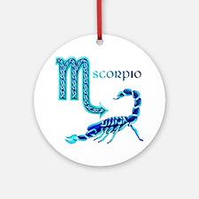 Scorpio Ornament (Round)