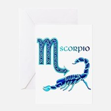 Scorpio Greeting Cards