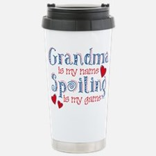 Spoiling Grandma Stainless Steel Travel Mug