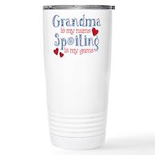 Spoiling Grandma Travel Coffee Mug