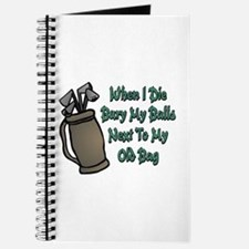 When I Die Journal