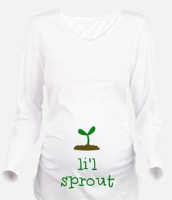 Lil Sprout Long Sleeve Maternity T-Shirt