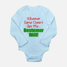 Santa Bestemor Will Body Suit