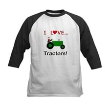 I Love Green Tractors Tee