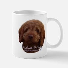 Funny Labradoodle puppy Mug