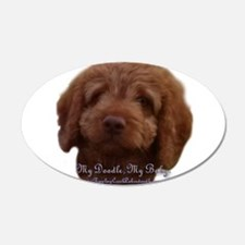 Funny Labradoodle Wall Decal