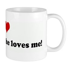 I Love Rodney, and he loves m Mug