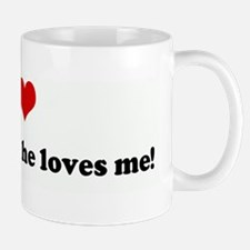 I Love Rodney, and he loves m Mug