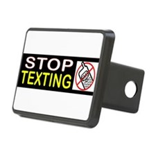 STOP TEXTING Hitch Cover