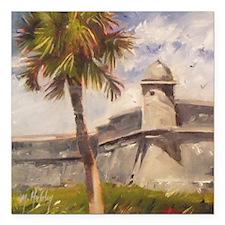 St. Augustine Fort Castillo de san Marcos Square C