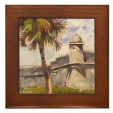 St. Augustine Fort Castillo de san Marcos Framed T