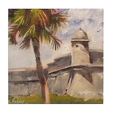 St. Augustine Fort Castillo de san Marcos Tile Coa
